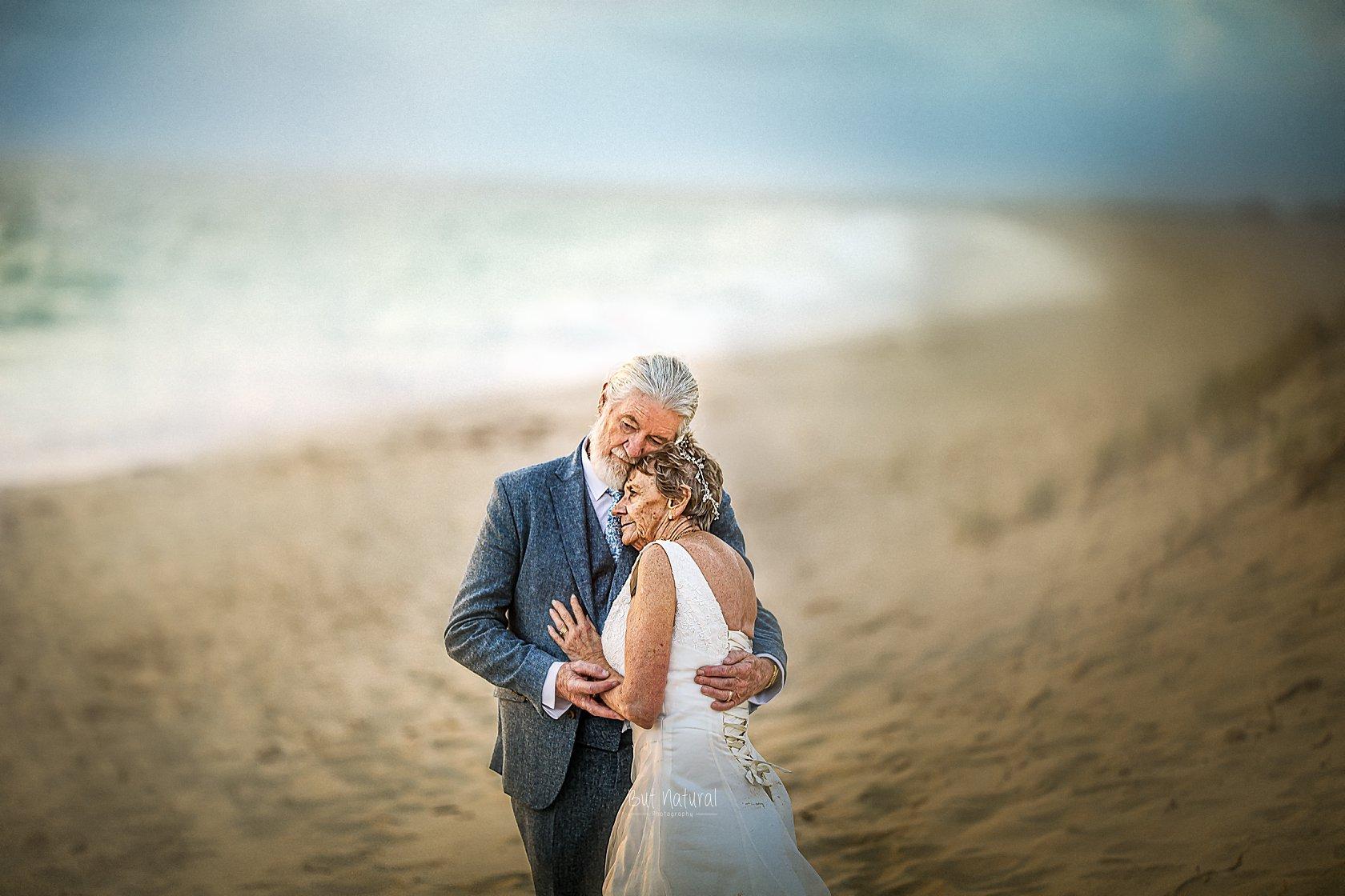elderlies wedding portraits
