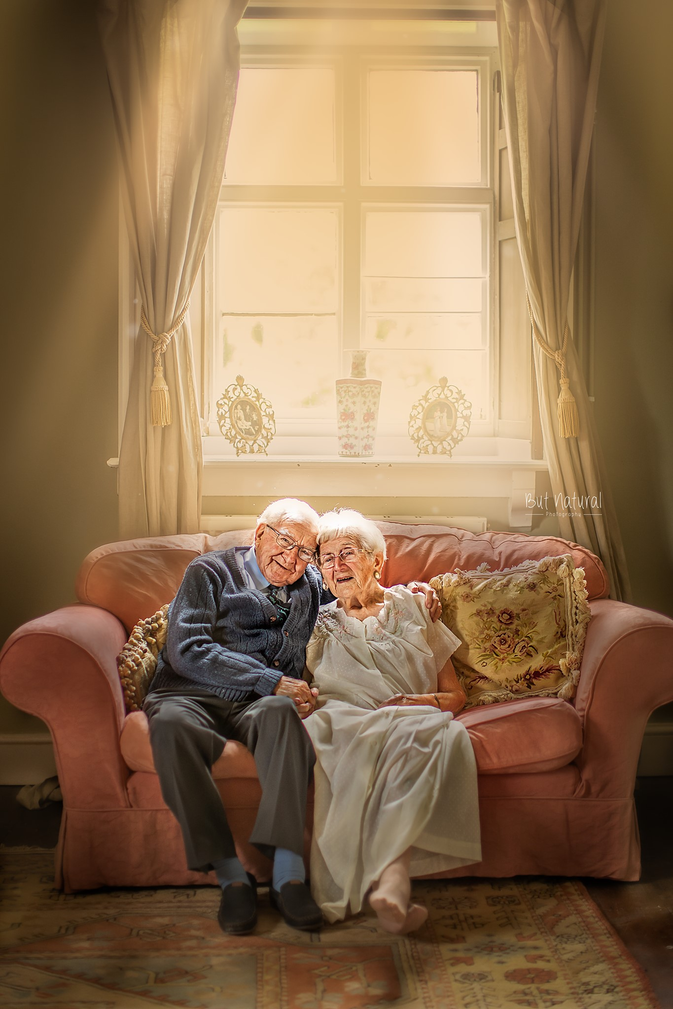 Elderly Photoshoot by Sujata Setia - But Natural Photography