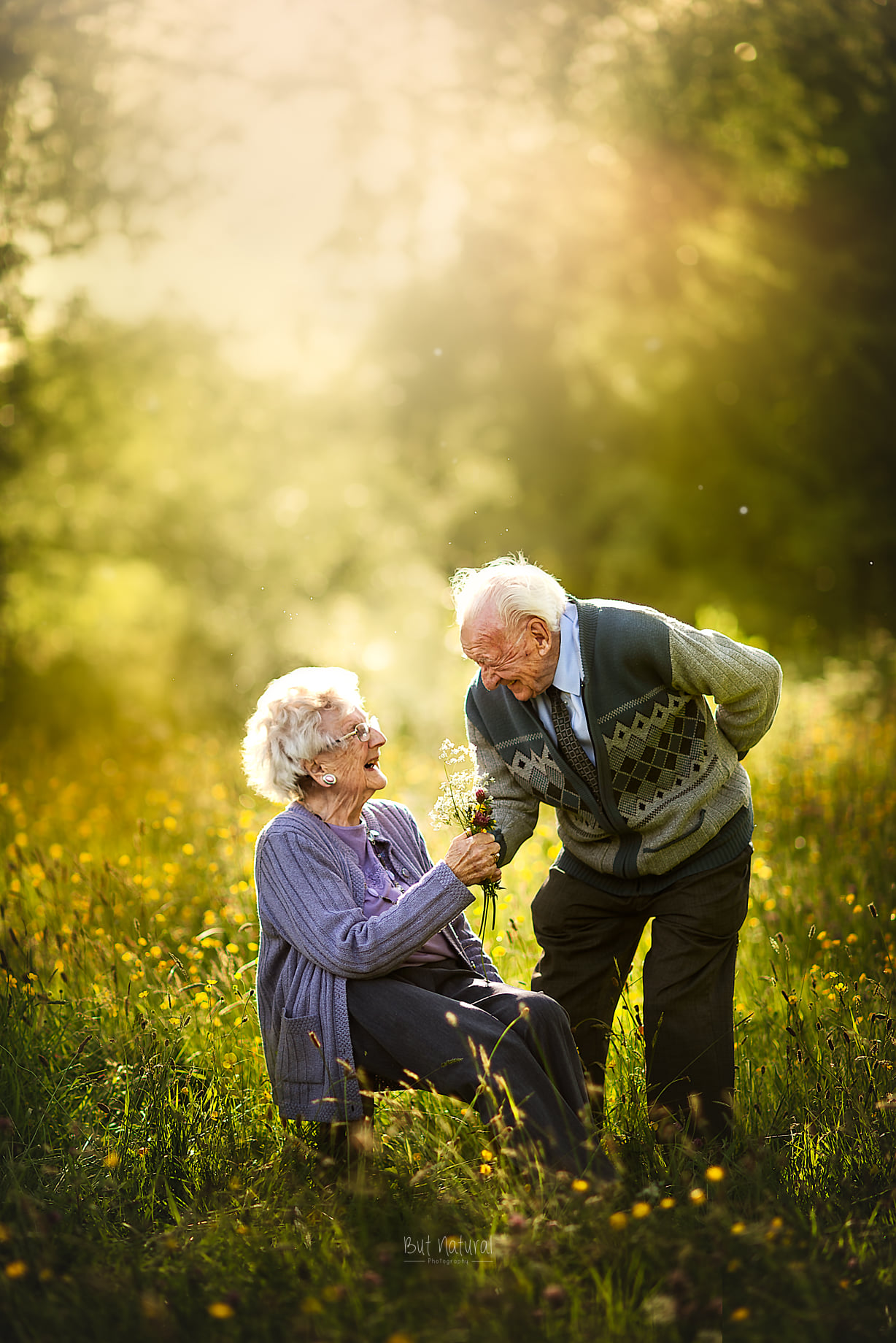 Senior romance | Elderly Photoshoot by Sujata Setia - But Natural Photography