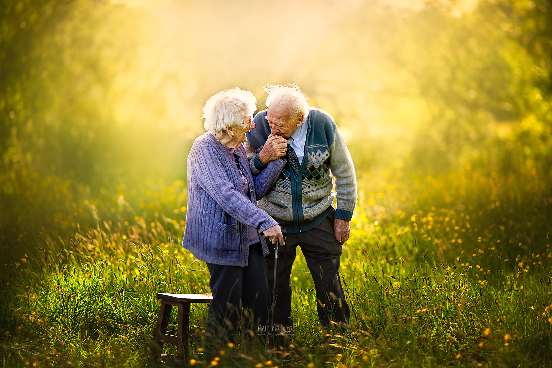 Elderly Couple Photoshoot by Sujata Setia - But Natural Photography